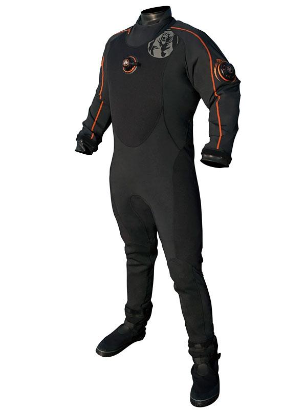 Сухой гидрокостюм для дайвинга Whites Fusion One в Michel Watersport