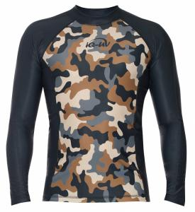 UV Shirt Watersport  L/S Camouflage Olive